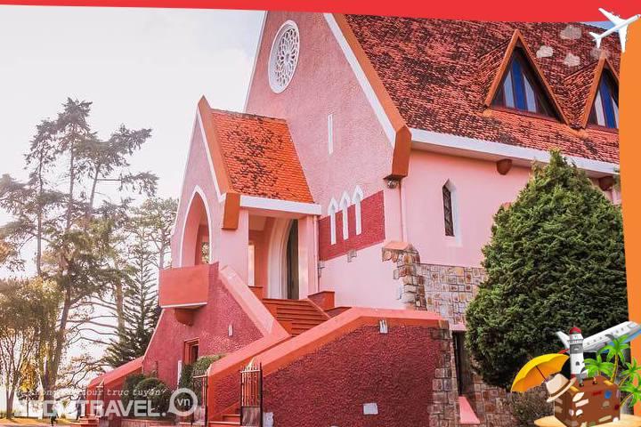 Nhà thờ Domain tour Đà Lạt