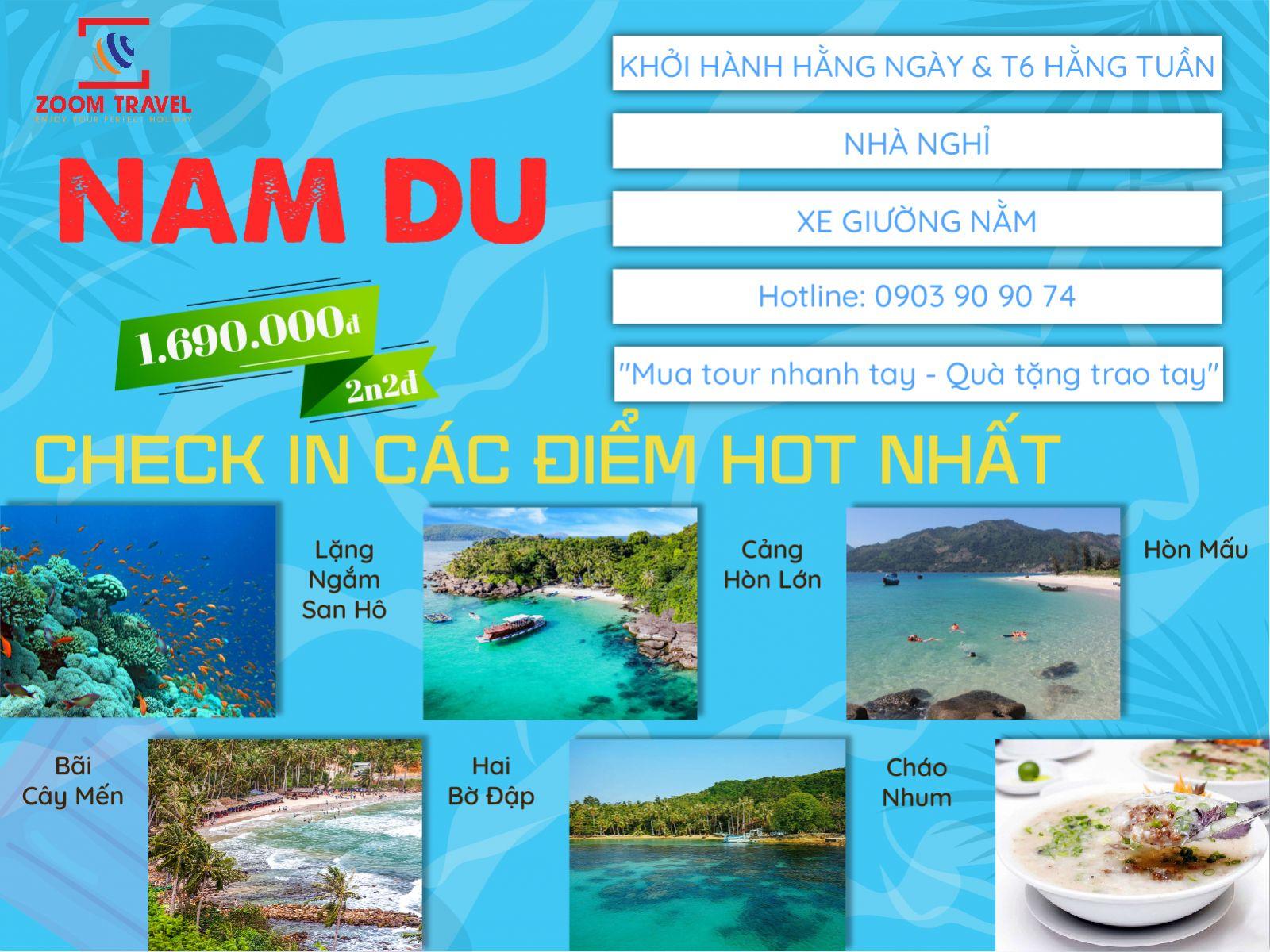 Tour Nam Du 2N2Đ