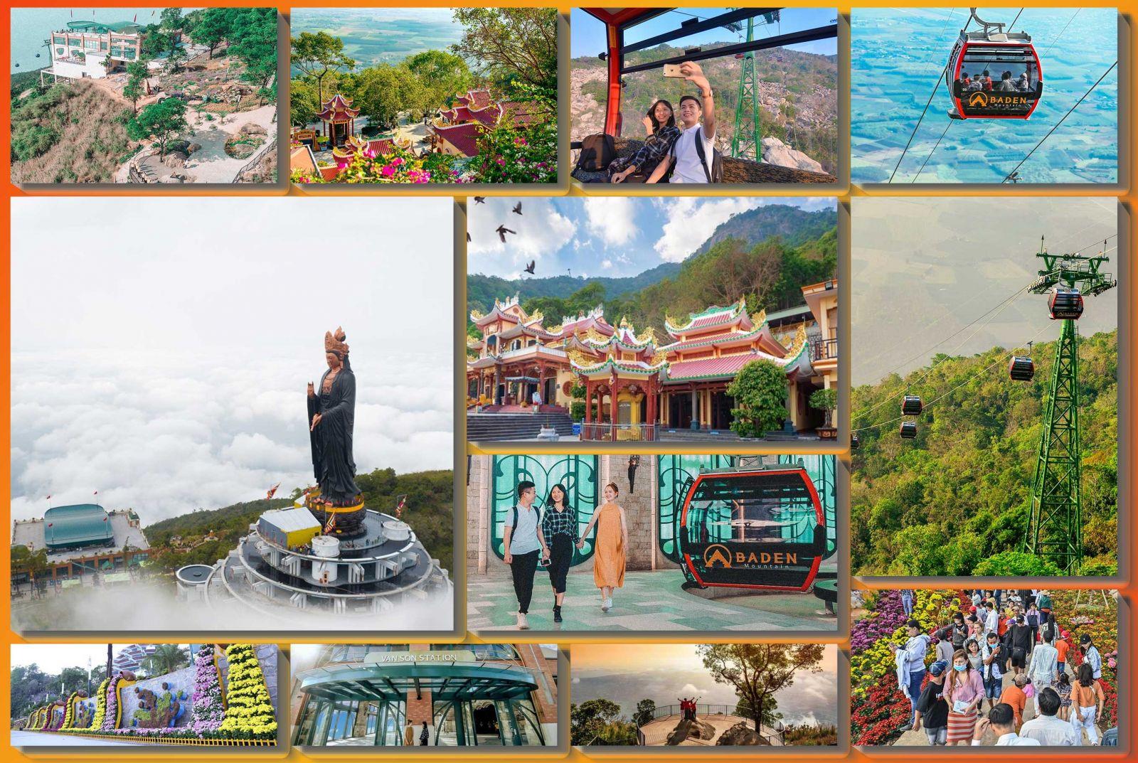 Núi Bà Đen Tây Ninh - Cáp Treo Núi Bà